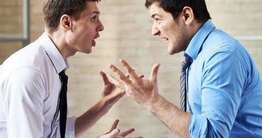 Бывший друг ругается