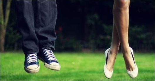 Ноги в прыжке