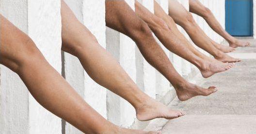 Разные ноги